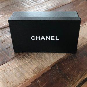 Empty Chanel box